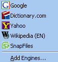 Search Menu