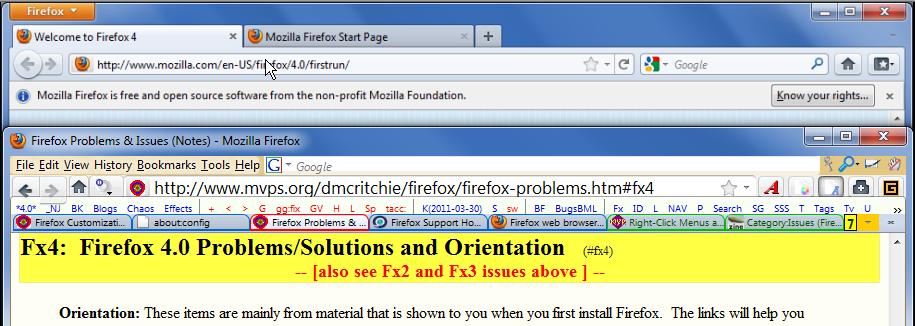 Next versions of Firefox: https://wiki mozilla org/RapidRelease https